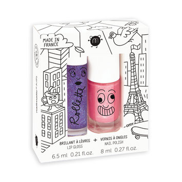 Nailmatic Lovely City Lip Gloss & Nail Polish Gift Set