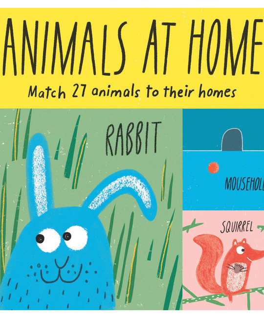 Chronicle Books Animals at Home Matching Game