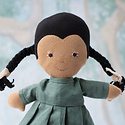 Hazel Village Hazel Village Doll - Celia in River Green Linen Dress