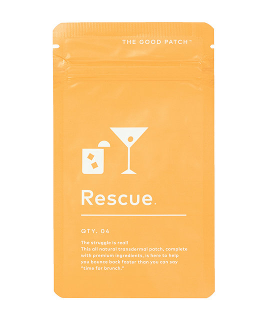 The Good Patch Plant Based Rescue Patch for Hangovers