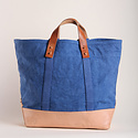 IMMODEST COTTON x Fleabags Immodest Cotton - East West Bucket Tote, Ocean