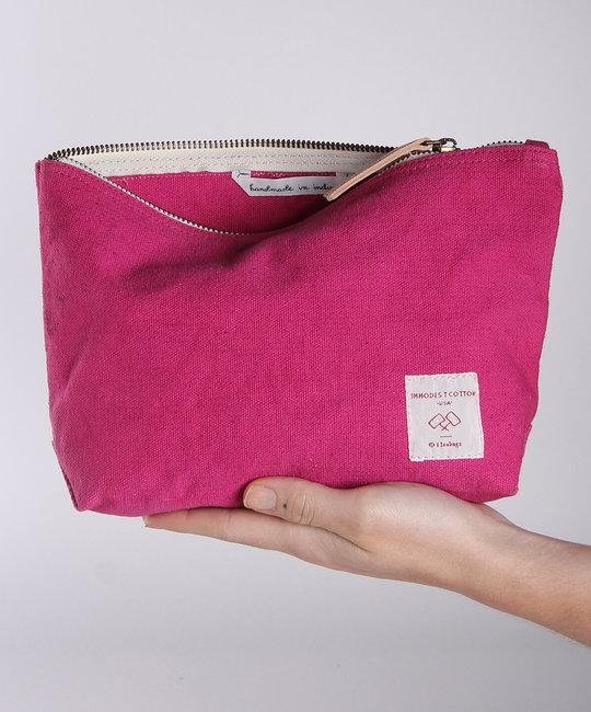 IMMODEST COTTON x Fleabags Immodest Cotton - Mini Sardine Pouch, Orchid