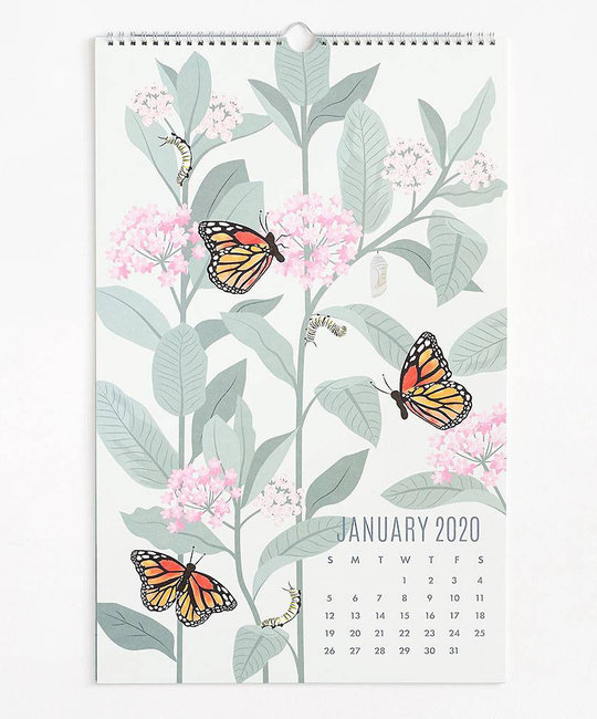 Waste Not Paper 2020 Wall Art Calendar