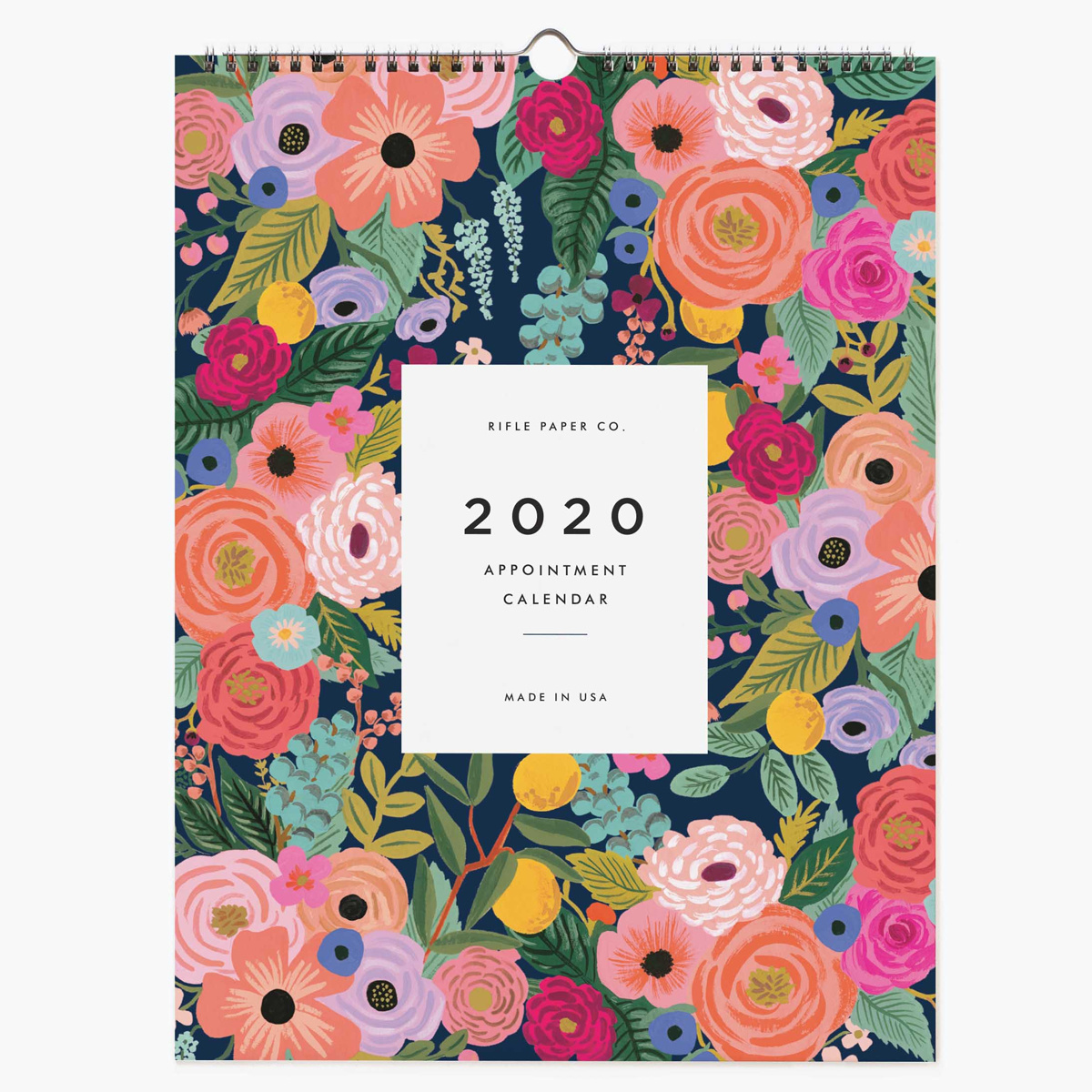 Rifle Paper Co. 2020 Garden Blooms Appointment Calendar