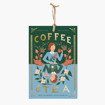 Rifle Paper Co. 2020 Coffee and Tea Wall Calendar