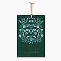 Rifle Paper Co. 2020 Coffee and Tea Wall Calendar