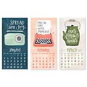 one canoe two letterpress 1Canoe2 - 2020 Homegrown Goodness Wall Calendar