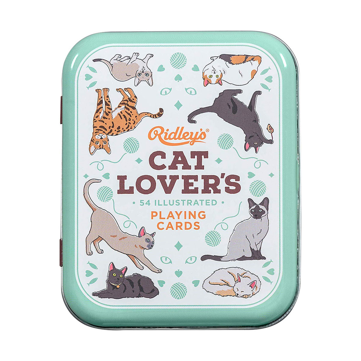 Wild and Wolf Cat Lovers Playing Cards