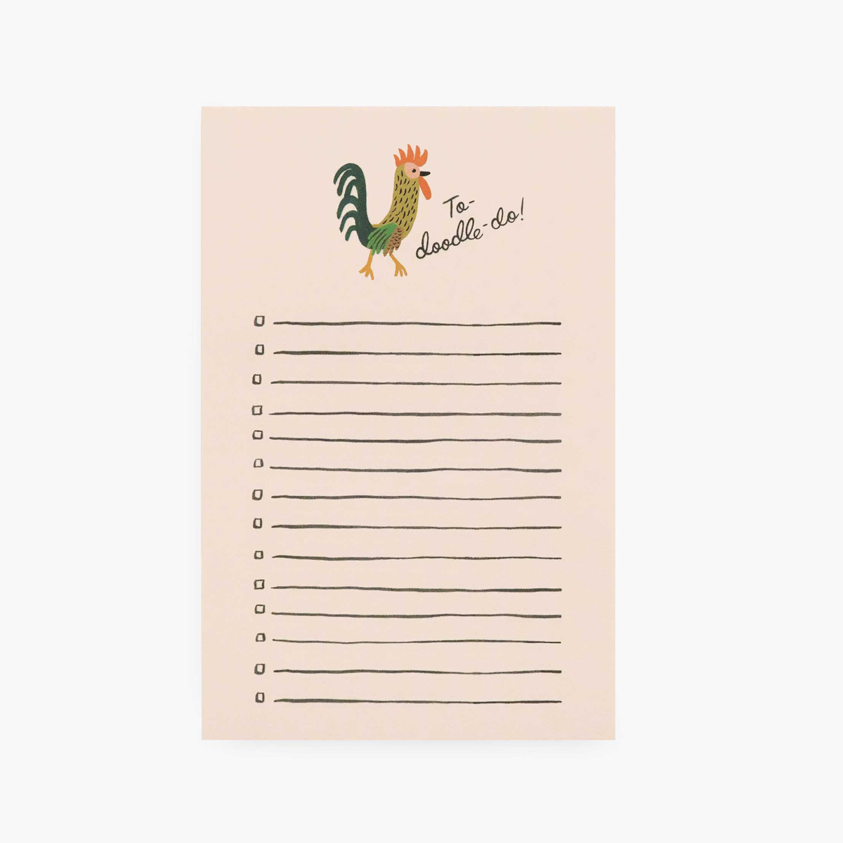 Rifle Paper Co. Rifle Paper Co - To Doodle Do Note Pad
