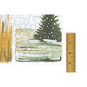 one canoe two letterpress 1 Canoe 2 - Starry Seasons Puzzle