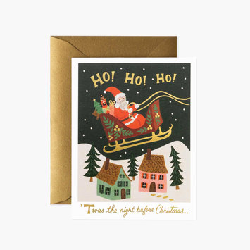 Rifle Paper Co. Rifle Paper Co Christmas Delivery card