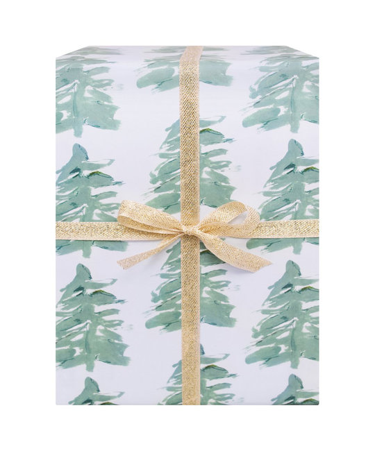 Our Heiday Spruce Gift Wrap (Roll of 3 Sheets)