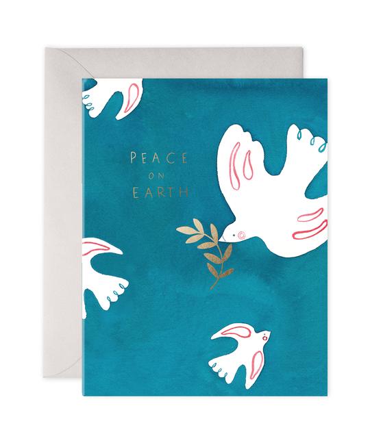 E. Frances Paper Studio - EF Peace Doves Card