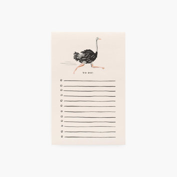 Rifle Paper Co Rifle Paper Co - Ostrich Note Pad