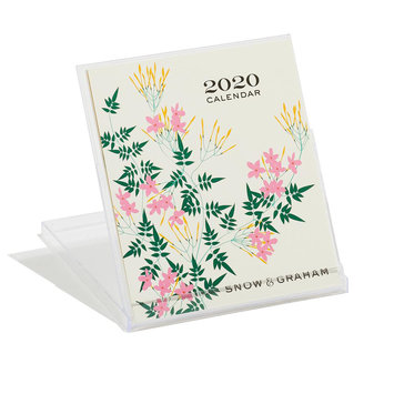 Snow and Graham 2020 Desk Calendar