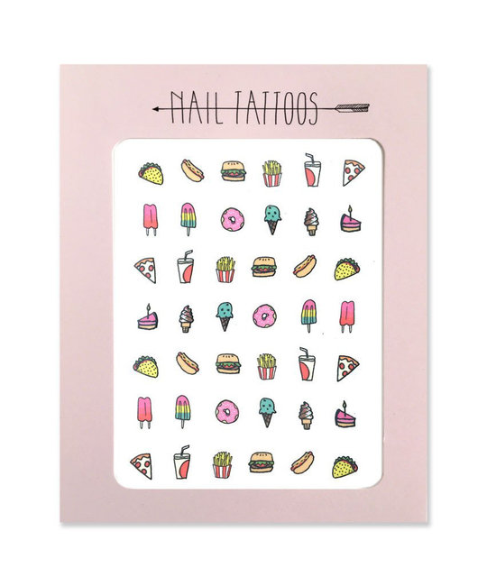 Hartland Brooklyn - HAR Junk Food Nail Tattoos