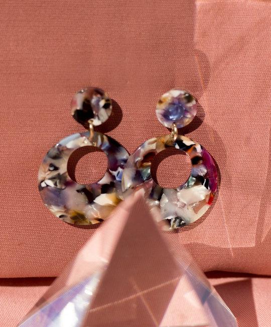 Casa Clara CAC JE - Rosado Cardon Earrings