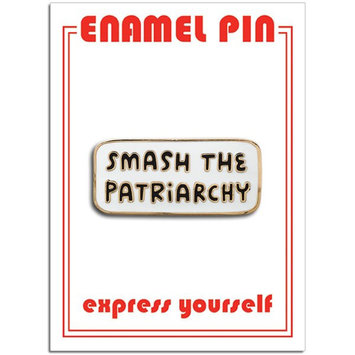 The Found Smash The Patriarchy Enamel Pin