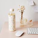 w and p design WPHG - Terrazzo Cream Porter Water Bottle