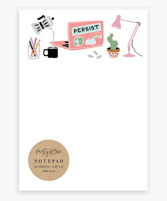Party of One Persist Notepad
