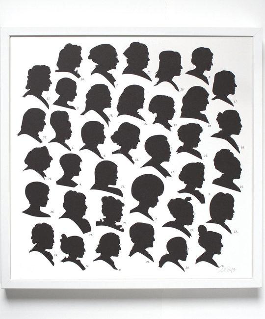banquet atelier and workshop Radical Women Print 50 x 50 cm