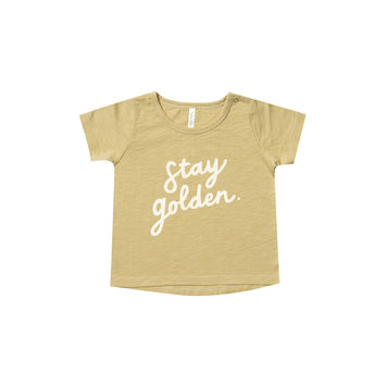 Rylee + Cru - RC Rylee + Cru Stay Golden Basic Tee