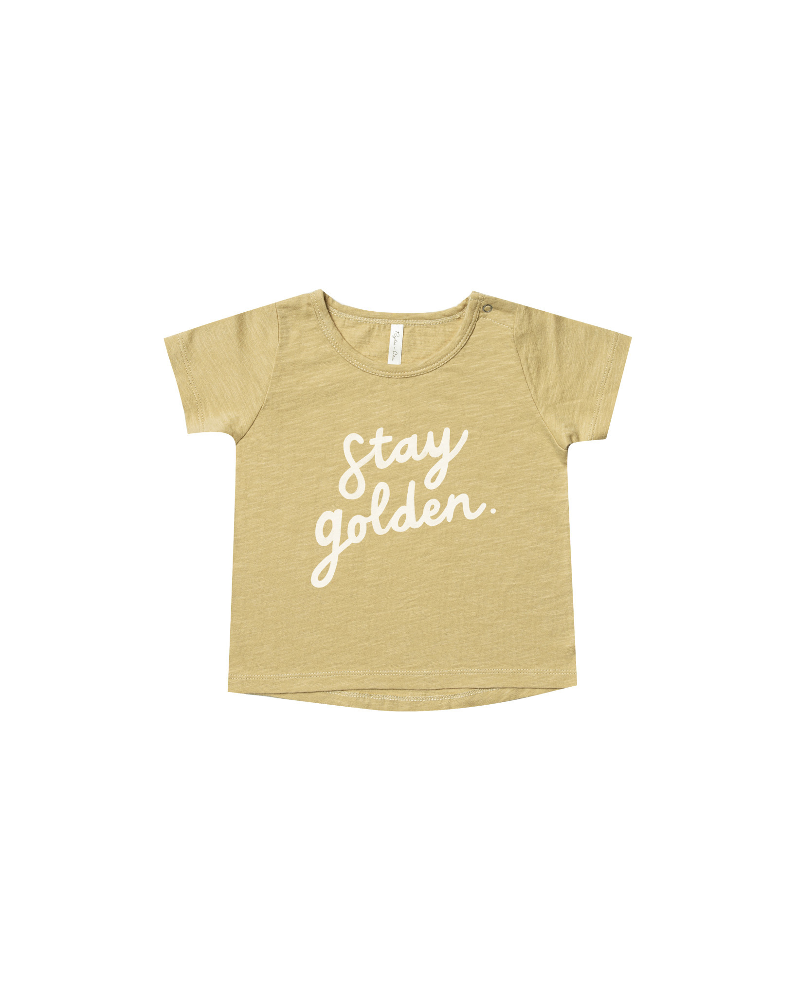 Rylee + Cru Rylee + Cru Stay Golden Basic Tee