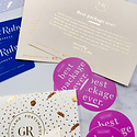Gus and Ruby Letterpress - GR Purchase Gift Card for use in our retail stores!