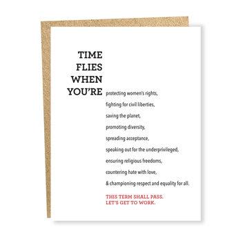 Sapling Press Time Flies