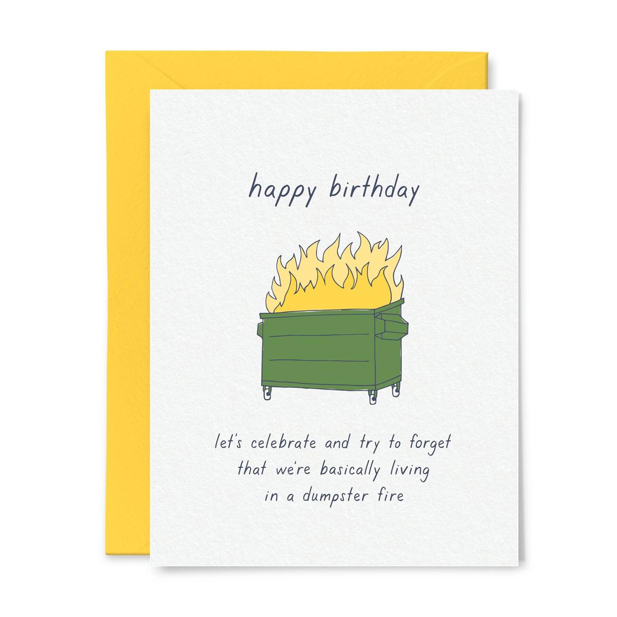 Little Goat Paper Co - LG Dumpster Fire Birthday