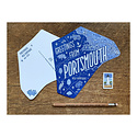 Noteworthy Paper and Press - NPP NPP PC - Greetings From Portsmouth Postcard