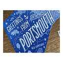 Noteworthy Paper and Press NPP PC - Greetings From Portsmouth Postcard