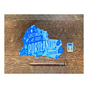 Noteworthy Paper and Press - NPP Greetings From Portland Postcard