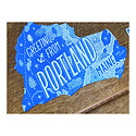 Noteworthy Paper and Press Greetings From Portland Postcard