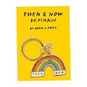 AdamJK Then and Now Keychain