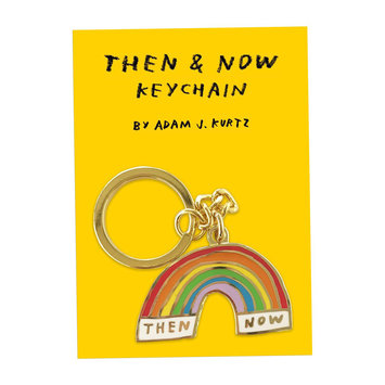 AdamJK - AJK Then and Now Keychain