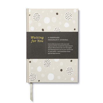 Compendium - COM Waiting For You: A Pregnancy Keepsake Journal