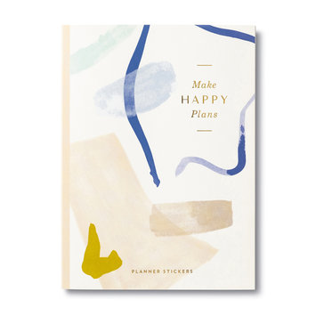Compendium - COM Make Happy Plans - Sticker Book for Planners