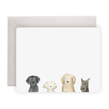 E. Frances Paper Studio Dog Days Notes, Set of 8