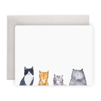 E. Frances Paper Studio - EF Cat's Meow Notes, Set of 8