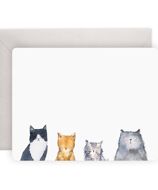 E. Frances Paper Studio - EF Cat's Meow Notes, Set of 8