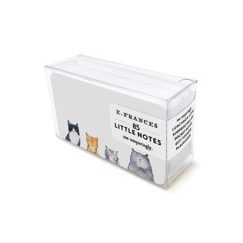 E. Frances Paper Studio - EF Cats Meow Little Notes, set of 85
