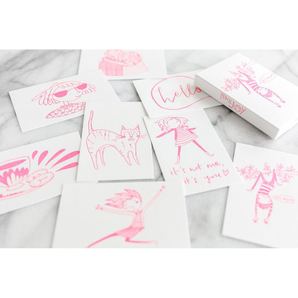 Pencil Joy Mini Joy Cards