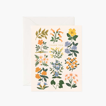 Rifle Paper Co. Rifle Paper - Wildwood Thank You Notes, Set of 8