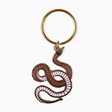 The Good Twin Snake Keychain