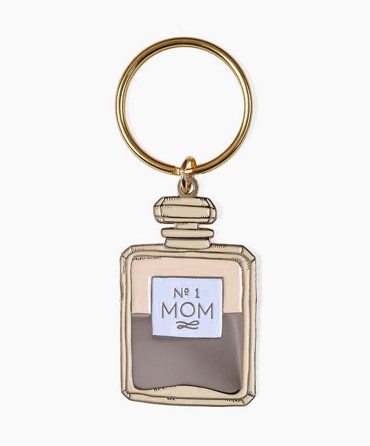 The Good Twin Mom Perfume Enamel Keychain