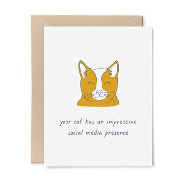 Little Goat Paper Co - LG Cat's Social Media Following