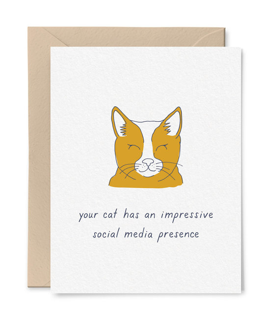 Little Goat Paper Co - LG Cat's Social Media Following
