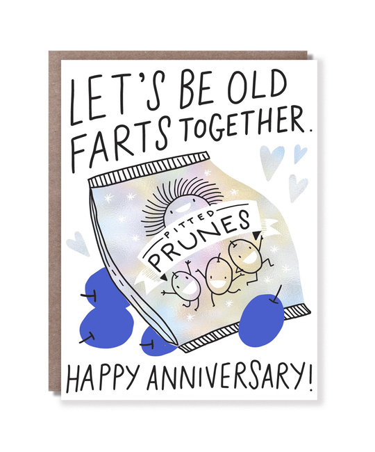 Hello!Lucky - HL Old Farts Anniversary Card