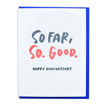 and Here We Are - AHW So Far So Good Anniversary Card
